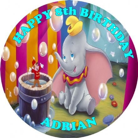 Dumbo Edible Cake Topper